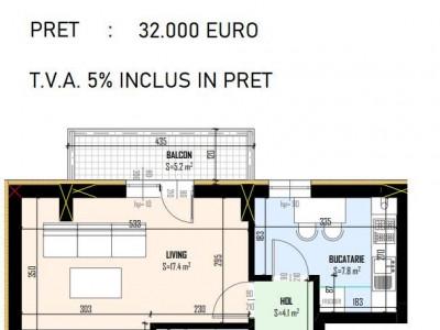 GARSONIERA / decomandata / complex rezidential / proiect 2020