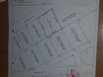 Super teren  deschidere mare, cartier de lux Bragadiru / investitie