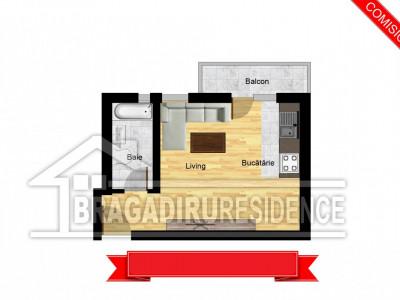 Garsoniera / cu balcon / zona centrala / loc de parcare inclus / RECOMANDAM