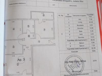 Apartament 3 camere, 2 balcoane / utilitati / zona linistita