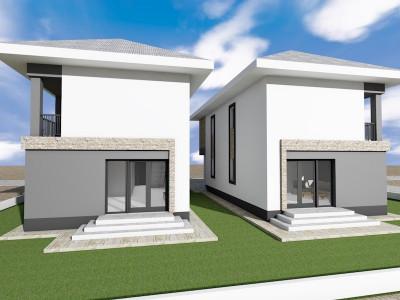 Case individuale cu etaj, camara/ toate utilitatile/ finisaje pe alese