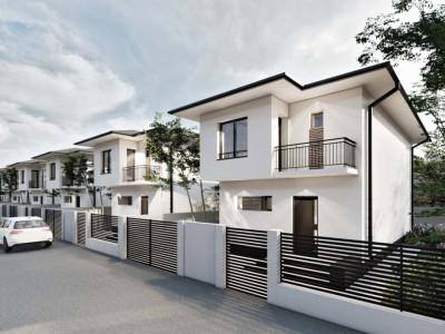 Vila Individuala 4 camere-strada asfaltata cu bariera!