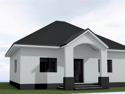 Casa individuala, teren 280mp/ pod cu scara retractabila,mutare imediata
