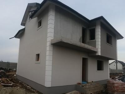 Casa individuala, P+1+M, 160mp utili, teren de 240 mp-Safirului