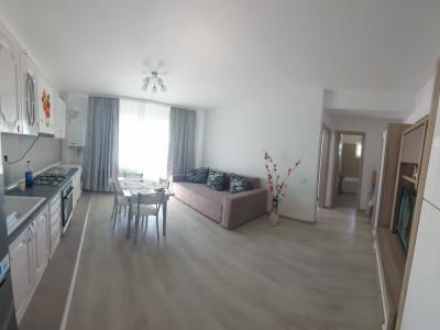 Apartament cu 2 camere/ acces in podul blocului/ NOU