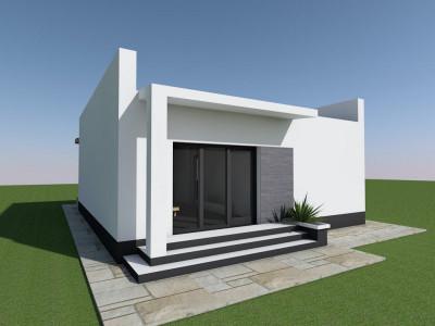 Alege o casa perfecta,cu curte generoasa,la pret de apartament!