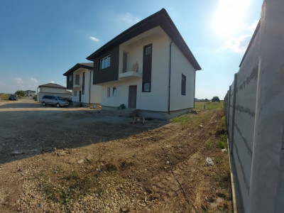Varteju-Casa Individuala, 300 mp teren - 4 camere, pod depozitare