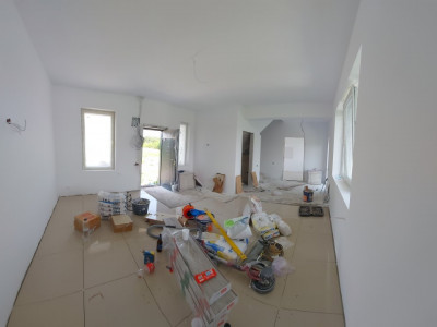 Clinceni-casa insiruita, 4 unitati locative, 4 camere, teren generos
