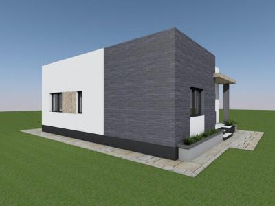 Pret de proiect pentru o casa in Varteju-Magurele!Zona linistita!