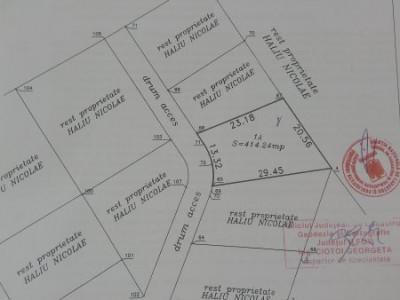 Teren intravilan 414mp Bragadiru-Cartier Eminescu