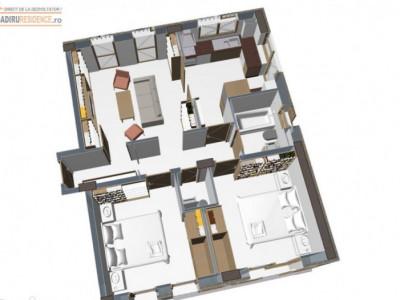 Apartament 2 camere decomandat BRAGADIRU