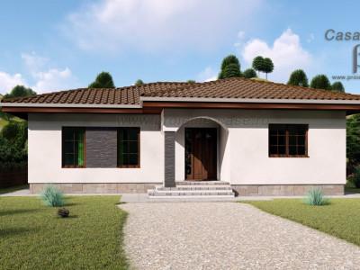 Casa single 3 camere si 250 mp curte