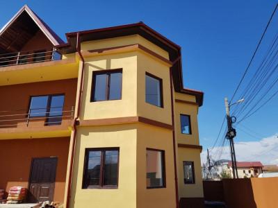 Duplex spatios, 6 camere, 340 mp utili si 230 mp curte, stradal, finisat