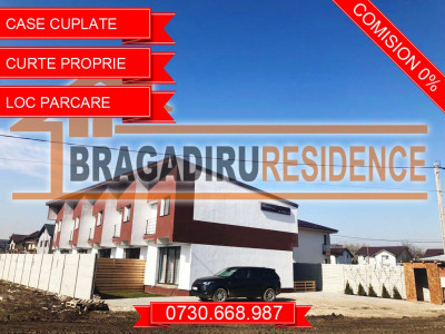 Vile insiruite Bragadiru, pret de apartament