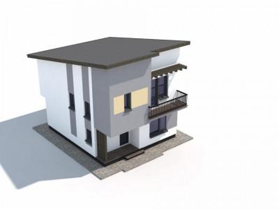 PROIECT NOU! Casa single cu 4 camere!