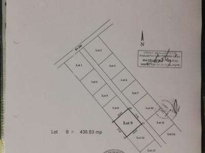 436 mp teren pe strada Crisul Repede, Bragadiru, toate utilitatile